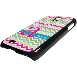 Colorful Chevron Plastic Samsung Galaxy 4 Phone Case (Personalized)
