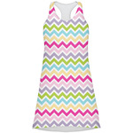 Colorful Chevron Racerback Dress (Personalized)