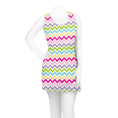 colorful chevron racerback dress 2x large personalized