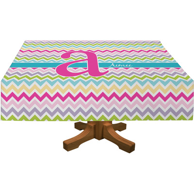 Colorful Chevron Tablecloth (Personalized)