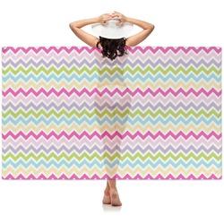Colorful Chevron Sheer Sarong (Personalized)