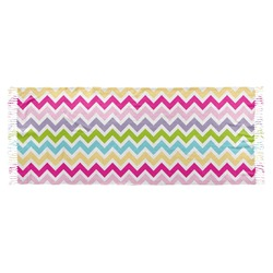 Colorful Chevron Faux Pashmina Scarf (Personalized)