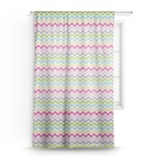 Colorful Chevron Sheer Curtains (Personalized)