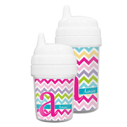 Colorful Chevron Sippy Cup (Personalized)