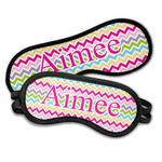 Colorful Chevron Sleeping Eye Masks (Personalized)