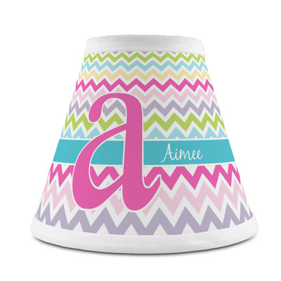 Colorful Chevron Chandelier Lamp Shade (Personalized)