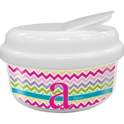 Colorful Chevron Snack Container (Personalized)