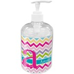 Colorful Chevron Soap / Lotion Dispenser (Personalized)