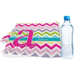 Colorful Chevron Sports Towel (Personalized)