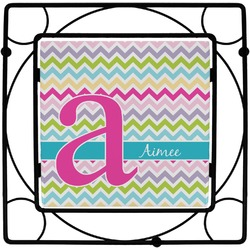 Colorful Chevron Trivet (Personalized)