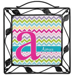 Colorful Chevron Trivet (Personalized)