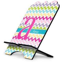 Colorful Chevron Stylized Tablet Stand (Personalized)
