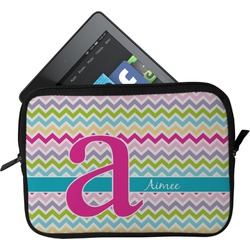 Colorful Chevron Tablet Case / Sleeve (Personalized)