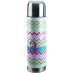 Colorful Chevron Stainless Steel Thermos (Personalized)