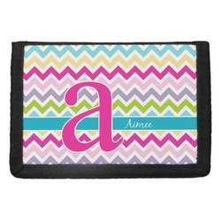 Colorful Chevron Trifold Wallet (Personalized)