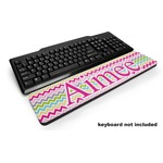Colorful Chevron Keyboard Wrist Rest (Personalized)