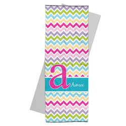 Colorful Chevron Yoga Mat Towel (Personalized)