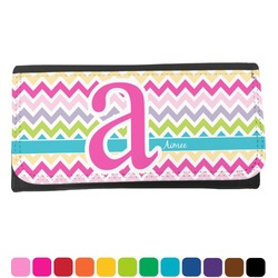 Colorful Chevron Ladies Wallet (Personalized)