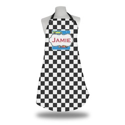 Checkers & Racecars Apron (Personalized)