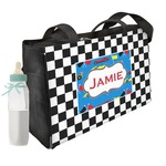 Checkers & Racecars Diaper Bag (Personalized)