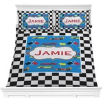 Checkers & Racecars Comforters (Personalized)