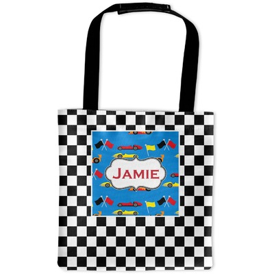 Checkers & Racecars Auto Back Seat Organizer Bag (Personalized)