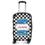 Checkers & Racecars Suitcase (Personalized)