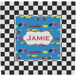 Checkers & Racecars Ceramic Tile Hot Pad (Personalized)