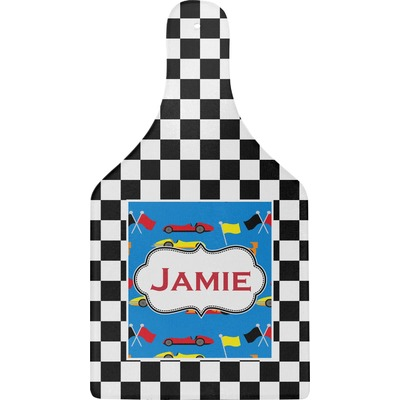 Checkers & Racecars Cheese Board (Personalized)