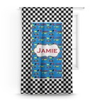 Checkers & Racecars Curtain (Personalized)