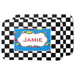 Checkers & Racecars Dish Drying Mat (Personalized)
