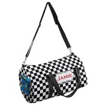 Checkers & Racecars Duffel Bag (Personalized)