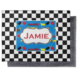Checkers & Racecars Microfiber Screen Cleaner (Personalized)