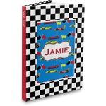 Checkers & Racecars Hardbound Journal (Personalized)