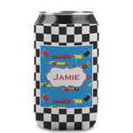 Checkers & Racecars Can Sleeve (12 oz) (Personalized)