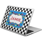 Checkers & Racecars Laptop Skin - Custom Sized (Personalized)
