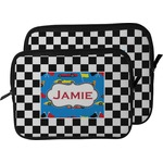 Checkers & Racecars Laptop Sleeve / Case (Personalized)