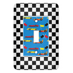 Checkers & Racecars Light Switch Covers (Personalized)