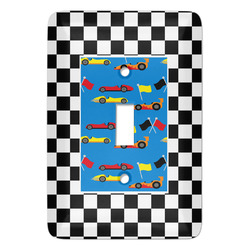 Checkers & Racecars Light Switch Covers - Multiple Toggle Options Available (Personalized)