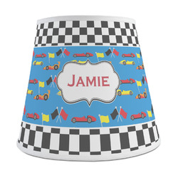 Checkers & Racecars Empire Lamp Shade (Personalized)