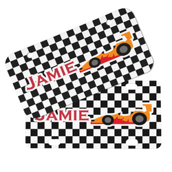 Checkers & Racecars Mini/Bicycle License Plates (Personalized)