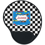 Checkers & Racecars Mouse Pad with Wrist Support