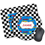 Checkers & Racecars Mouse Pads (Personalized)