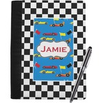 Checkers & Racecars Notebook Padfolio (Personalized)