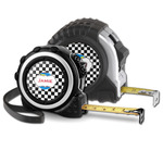 Checkers & Racecars Tape Measure (Personalized)