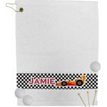 Checkers & Racecars Golf Towel (Personalized)