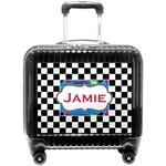 Checkers & Racecars Pilot / Flight Suitcase (Personalized)