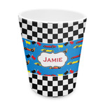 Checkers & Racecars Plastic Tumbler 6oz (Personalized)