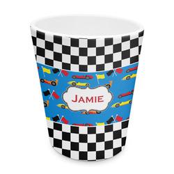 Checkers & Racecars Plastic Tumbler 6oz (Personalized)