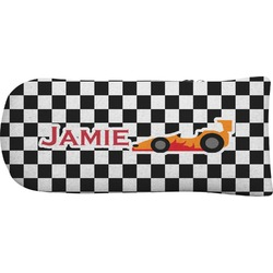 Checkers & Racecars Putter Cover (Personalized)